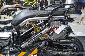bentley zoomer honda zoomer x by kd shop seat at 2016 bims indian autos blog
