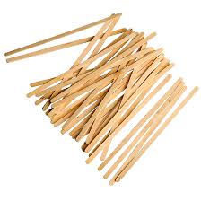 wood stir sticks biomass packaging sustainable foodservice