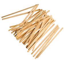 sticks wood wood stir sticks biomass packaging sustainable foodservice