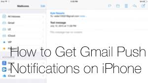 yahoo email not pushing to iphone 3 ways to get gmail push notifications on iphone