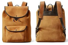 filson roughout weatherproof suede bag collection