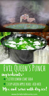 the quick two ingredient evil queen u0027s punch recipe is perfect to