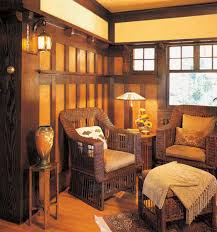 Where To Put Wainscoting In The Home Wood Wainscot Revival Arts U0026 Crafts Homes And The Revival