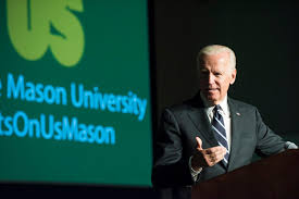 Joe Biden Resume Joe Biden Encourages Gmu Students To Change The Culture Around