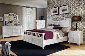 Bedroom Designs With White Furniture Bedroom Decorating Ideas With White Furniture Set And Wallpaper