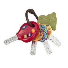 toddler toy car luckeys toddler car keys by b toys 70 1227 sound