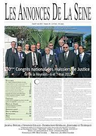 chambre nationale des huissiers de justice annonce edition du mardi 7 mai 2013 by annonces de la seine issuu