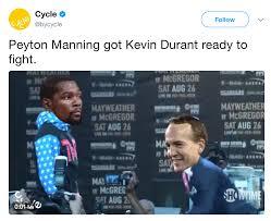 Floyd Meme - peyton macgregor vs floyd maydurant kevin durant know your meme