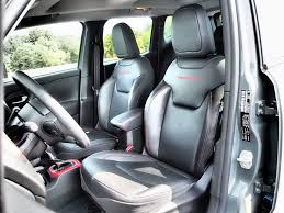 gray jeep renegade interior 2016 jeep renegade trailhawk review