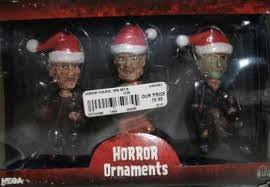 neca horror icons figural ornament 3 pack