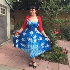 hawaiian vintage dress for spring strangeblog