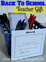 Teacher Gift Basket Back To Teacher Gift