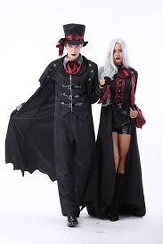 carnaval costume men and women noble dark serious count