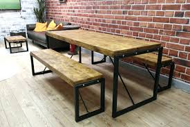 Industrial Style Coffee Table Wooden Industrial Table U2013 Littlelakebaseball Com