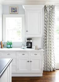 Grommet Kitchen Curtains Geometric Curtains Transitional Kitchen Muse Interiors
