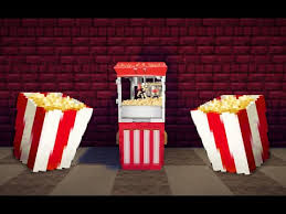 minecraft cuisine popcorn machine in minecraft minecraft project