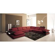canape panoramique design canapé panoramique cuir et noir design avec lumière ibiza