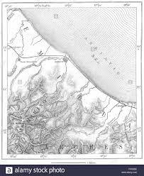 San Marino Italy Map by Italy Rimini U0026 San Marino Sketch Map C1885 Stock Photo Royalty