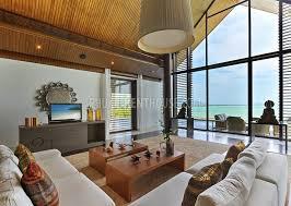 yam12246 luxury sea view villa with private beach phuket rent house