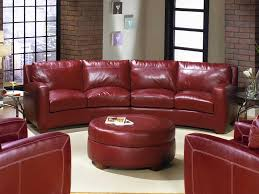 Curved Sectional Sofa Leather Curved Sectional Sofa Ideas Fabrizio Design Decorating Living