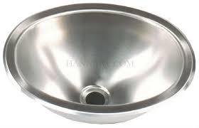 copper vessel sinks ebay hengs sss 1013 single oval bowl stainless steel sink 13 13 inch