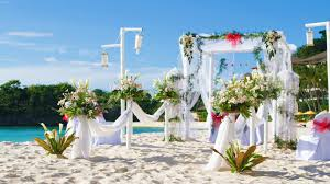 marriage decoration on beach full hd wallpapers large hd wallpapers