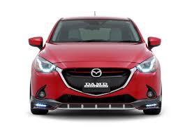 mazda 2 2016 mazda2 and cx 3 get aggressive body kits from damd in japan