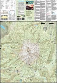Map Of Northern Oregon by Mt Hood Area Hiking Riding U0026 Climbing Map U0026 Guide Oregon