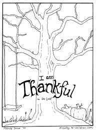 ministry to children thanksgiving coloring page now