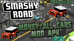 road apk smashy road most wanted modded all cars unlimited money v 1 2