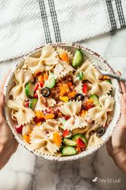 easiest summer italian pasta salad chew out loud