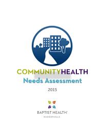 2015 baptist health richmond community health needs assessment by