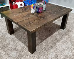 Kids Kitchen Table by Kids Table Etsy