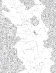 Napa Valley Winery Map Meadowood Napa Valley Luxury Resort And Spa Napa Luxury Resorts
