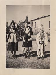 vintage witch costume haunting photographic images of early halloween costumes are