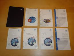 volkswagen golf mk4 cabriolet owners manual handbook c w wallet