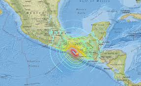 Map Of Mexico Coast by Biggest Earthquake To Hit Mexico In Over A Century Killed 58 And