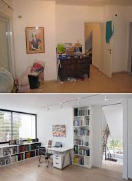 before and after a contemporary update for a 1980s house before and after a home in israel