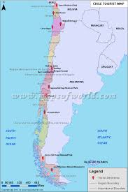 Rio On Map Chile Travel Information