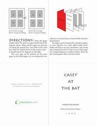 casey at the bat worksheet education com