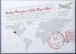 Wedding Postcards Travel And Destination Inspired Wedding Invitations Postcard