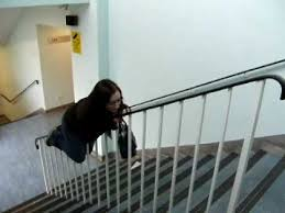 The Banister Anne Sliding Down A Bannister Youtube