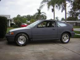 custom honda crx 1988 honda civic crx si 1 4 mile drag racing timeslip specs 0 60