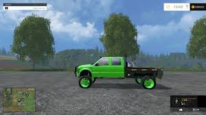 Ford F350 Monster Truck - lifted ford f350 work truck v1 0 ls 2015 farming simulator 2017