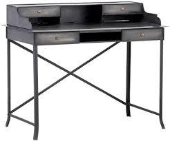 bureau metallique bureau en metal simple le de bureau articule en mtal cuivr