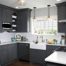 kitchens with dark cabinets dark grey kitchen cabinets home design