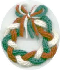 maggie s rags free knitting patterns wreath ornament