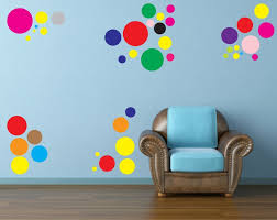 circle wall art stickers 42 multi coloured vinyl circles circle wall art stickers 42 multi coloured vinyl circles stickers various sizes amazon co uk kitchen home