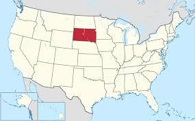 Usa Map With State Names by List Of Cities In South Dakota Wikipedia