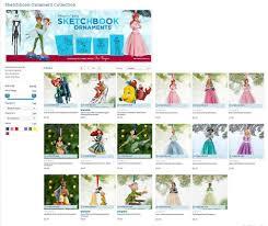 2013 sketchbook ornaments disney princess us disney st flickr